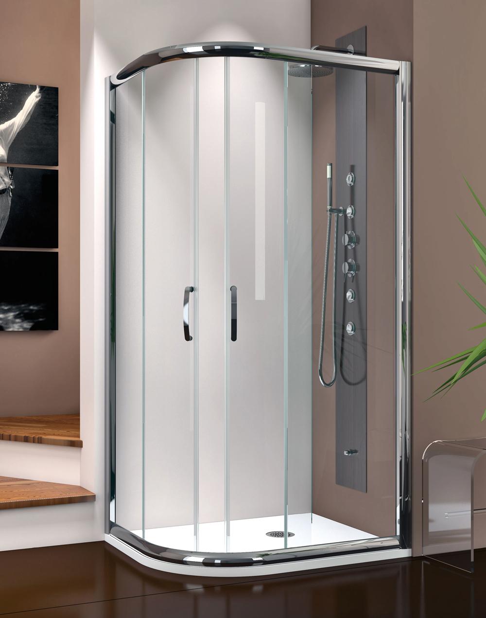 Ambra amb sr thermodesign - Box doccia design minimale ...